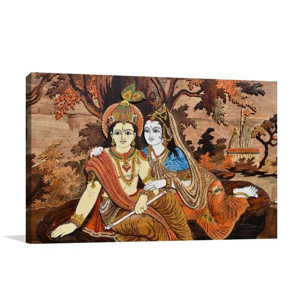 Hindu Gods Print Artwork