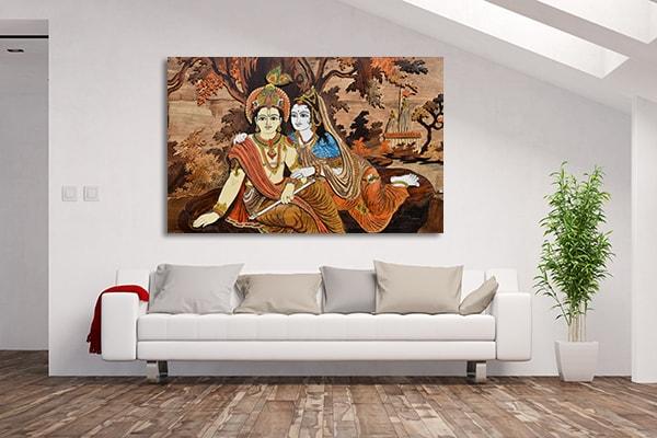 Hindu Gods Prints Canvas