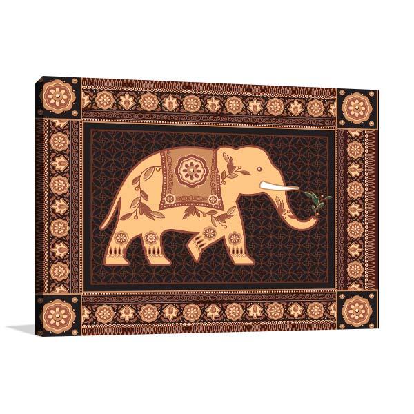 Hindu Ornament Prints Canvas