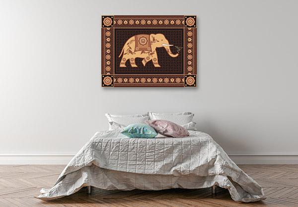Hindu Ornament Art Prints