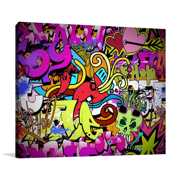 Hip Hop Style Canvas Art Prints