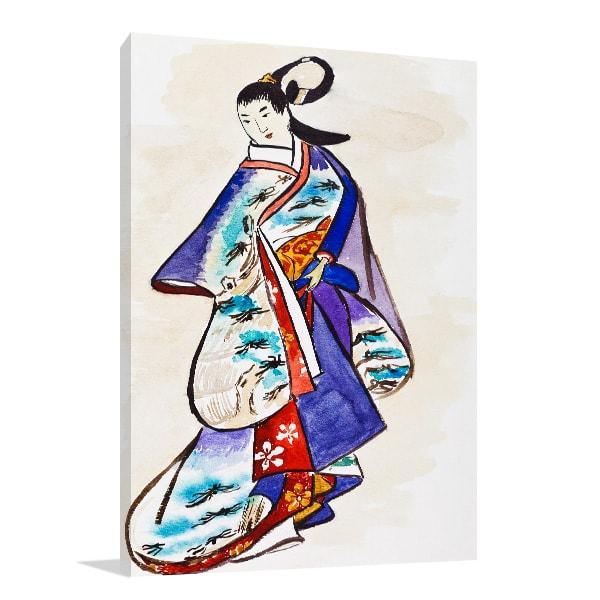 Historical Clothes Print Artwork