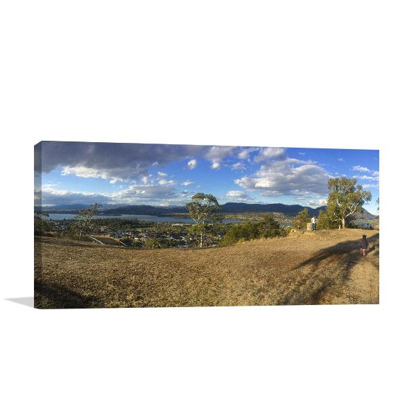 Hobart Art Print Derwnt River