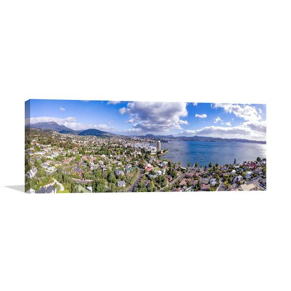 Hobart Art Print Sandy Bay View