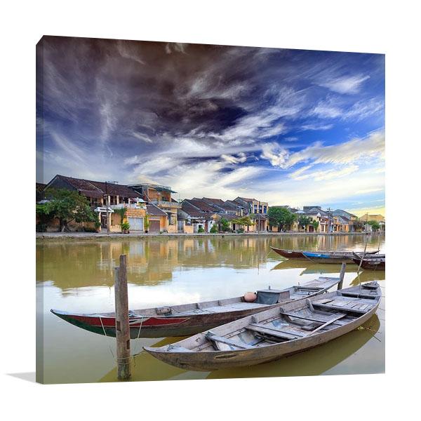 Hoi An Vietnam Villages Print Canvas