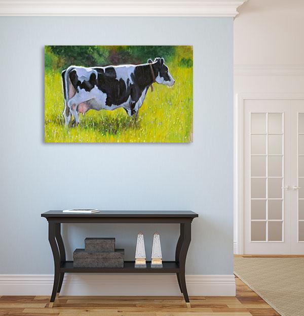 Holstein Dairy Cow Wall Art