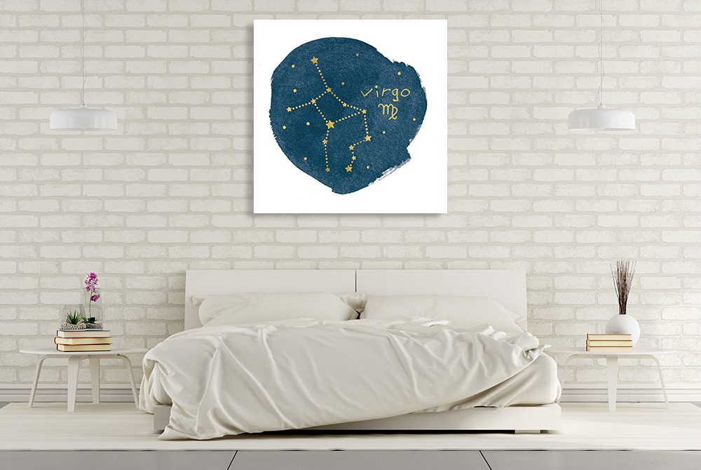 Astronomy Square Canvas Art Print