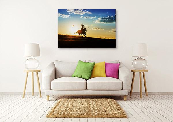 Horse Riding Canvas Prints
