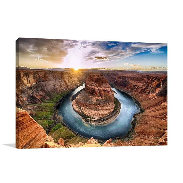 Horseshoe Bend Colorado River Print