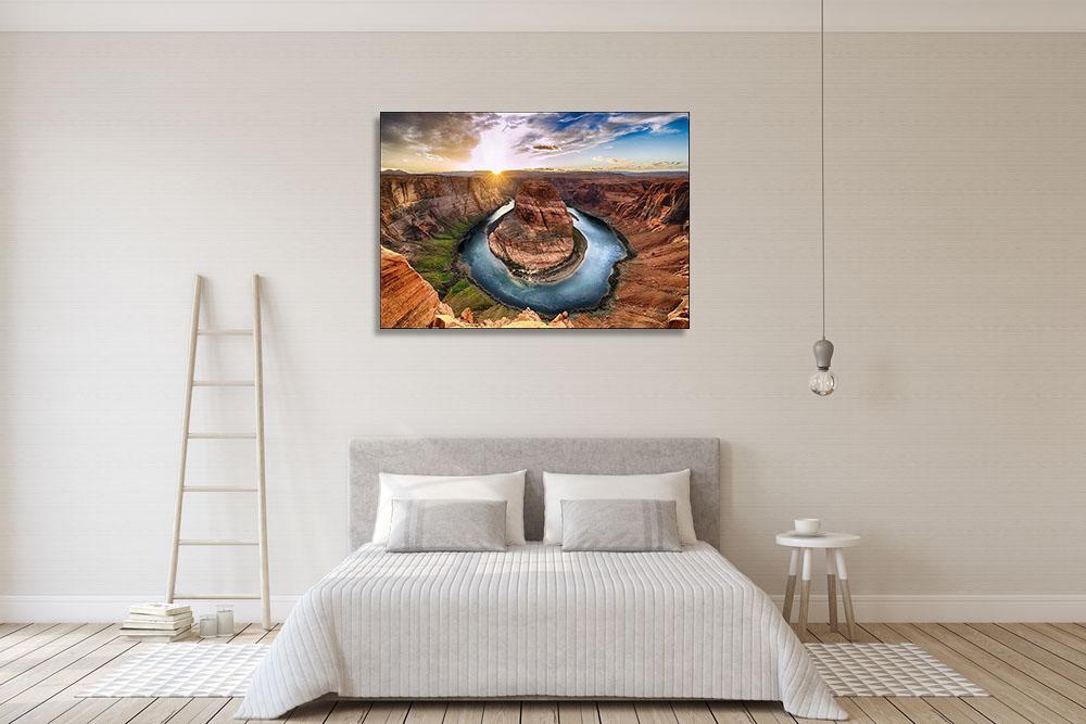 Sunset Photography Print Canvas