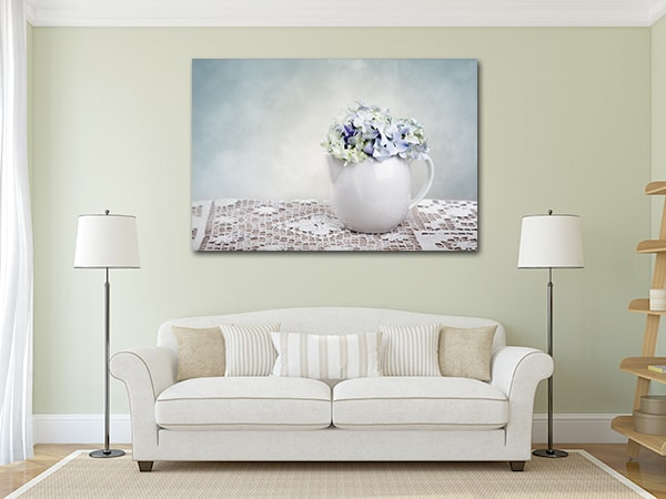 Hortensia Canvas Art on the Wall