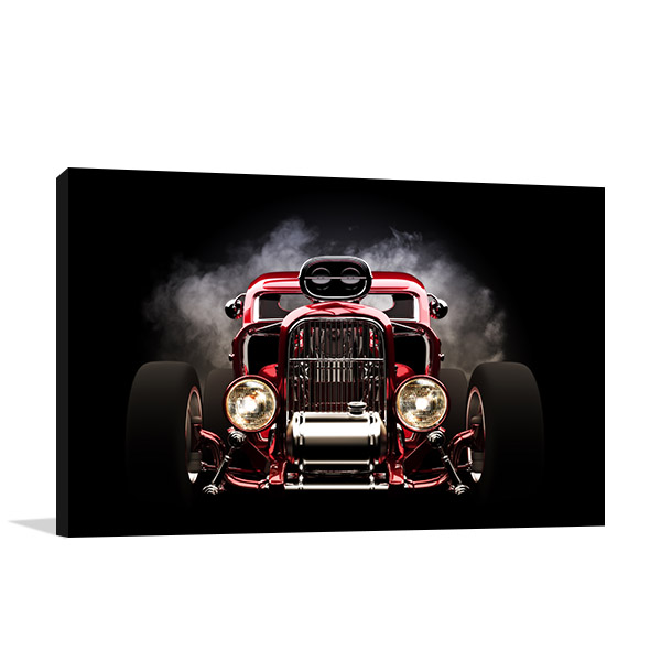 Hot Rod Wall Art