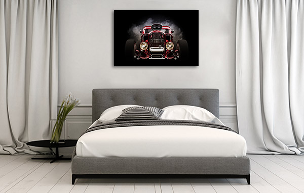 Hot Rod Canvas Prints