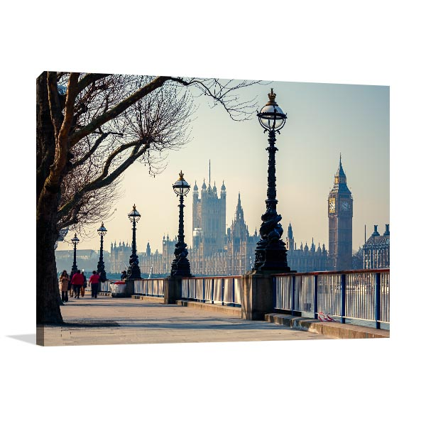 Houses of Parliament Canvas Art