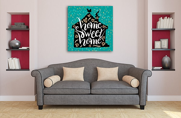 Housewarming Canvas Art