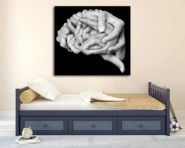 Human Brain Artwork