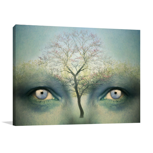 Human Tree Canvas Prints