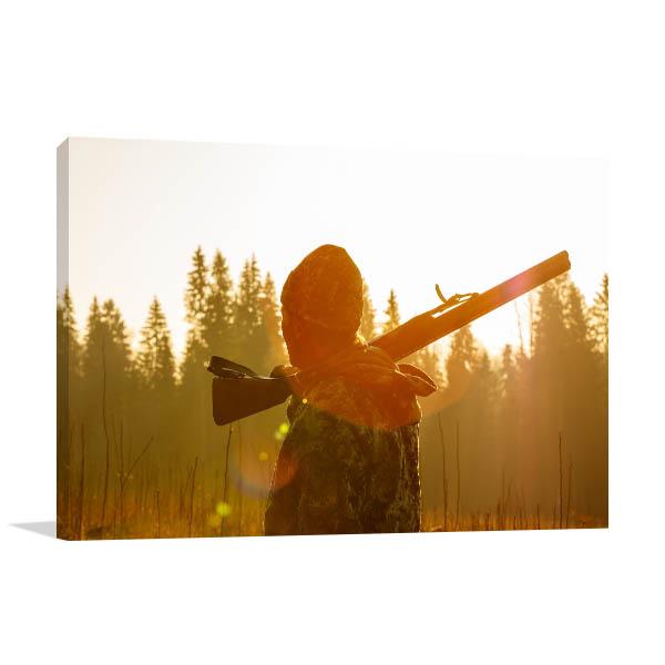 Hunter at Shotgun Artwork
