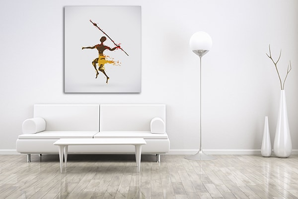 Hunter Canvas Art