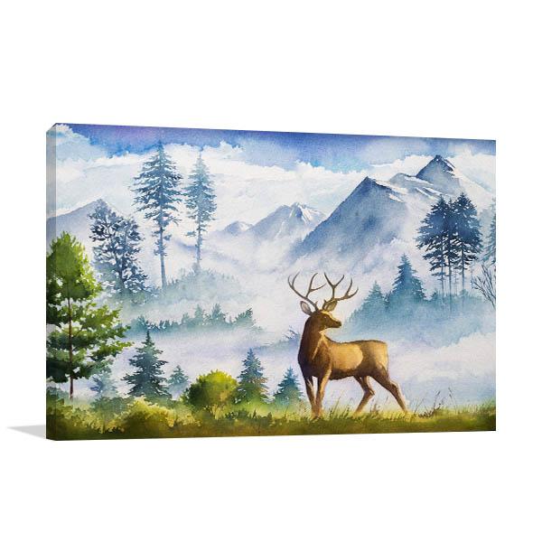 Hunting Season Canvas Art Prints