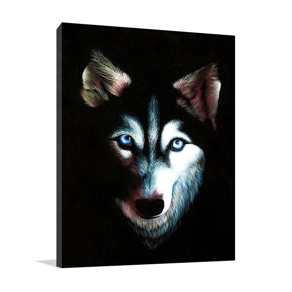 Husky Dog Canvas Print