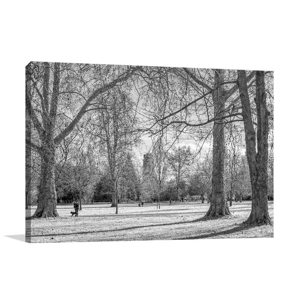 Hyde Park London Canvas Art Prints