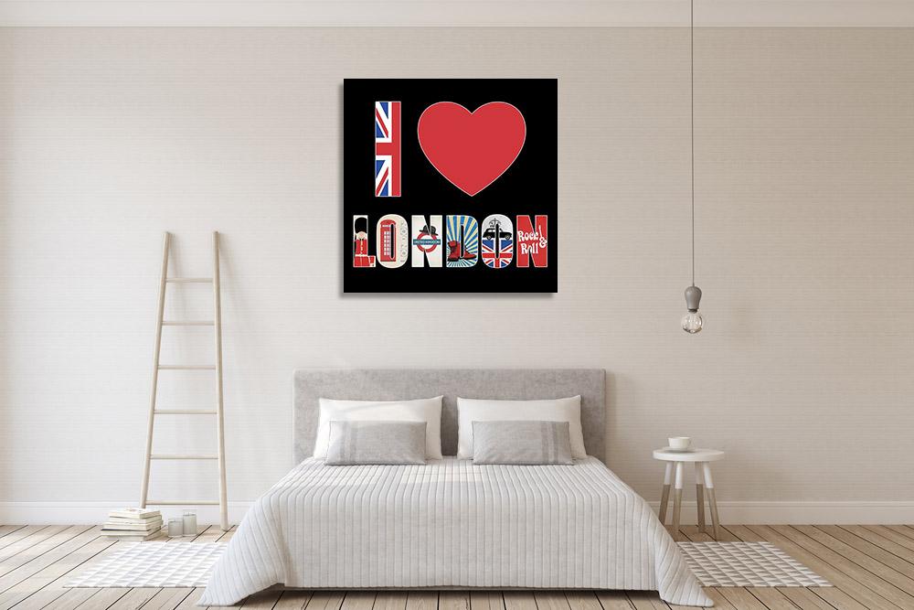 London Britain Wall Art Print