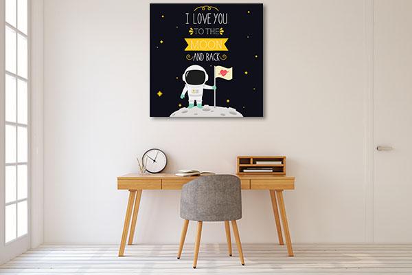 I Love You Wall Art