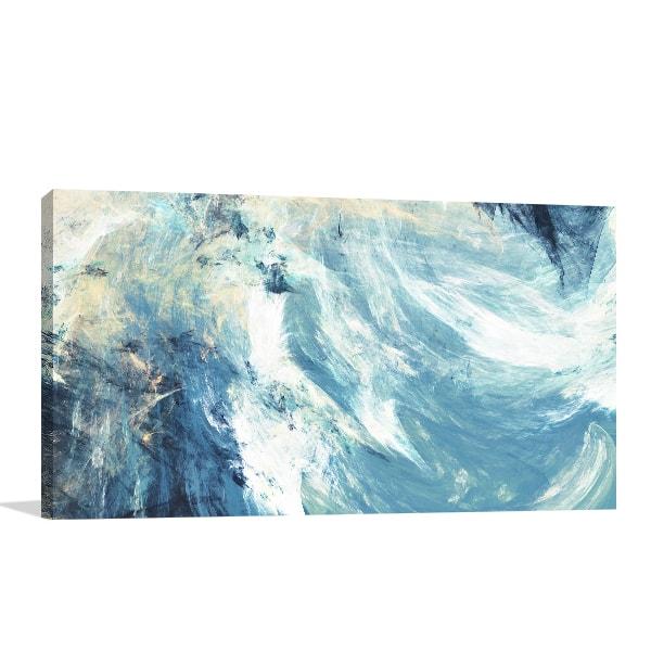 Icy Clouds Print Artwork