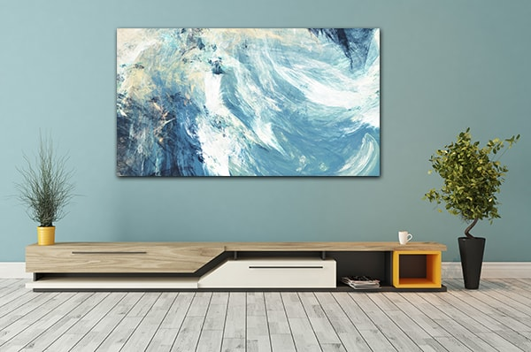 Icy Clouds Prints Canvas