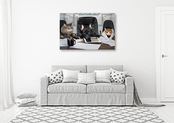 Important Meeting Art Prints