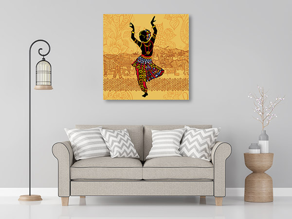 Indian Dance Canvas Prints