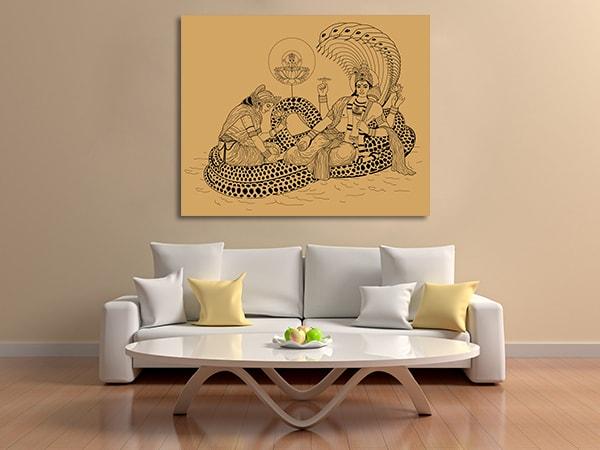 Indian God Canvas Prints