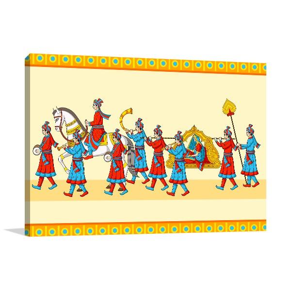Indian Wedding Wall Art