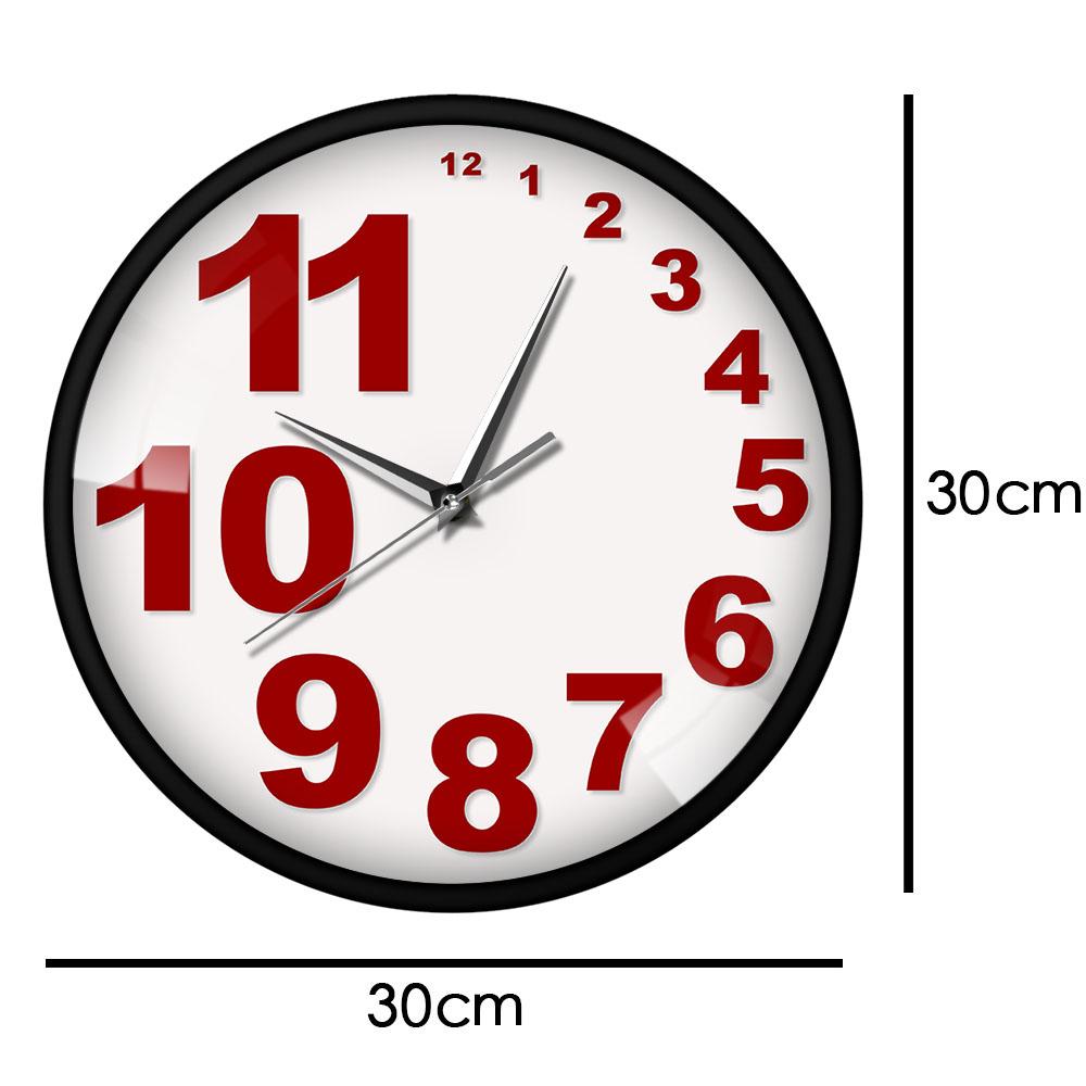 Irregular Numbers Scandi Wall Clock Sydney