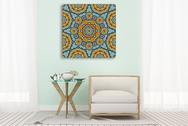 Islamic Mosaic Print Artwork