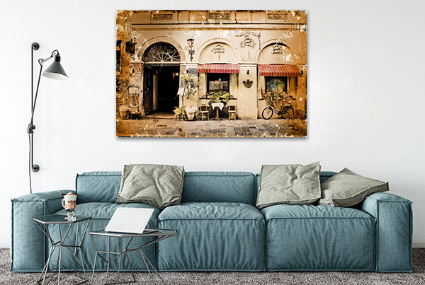 Italia Art Print on the wall