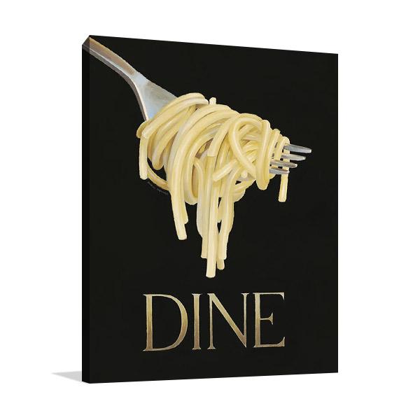 Italian Pasta Canvas Print