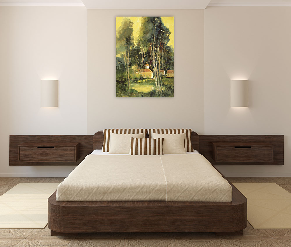 Bedroom Impressionist Wall Art