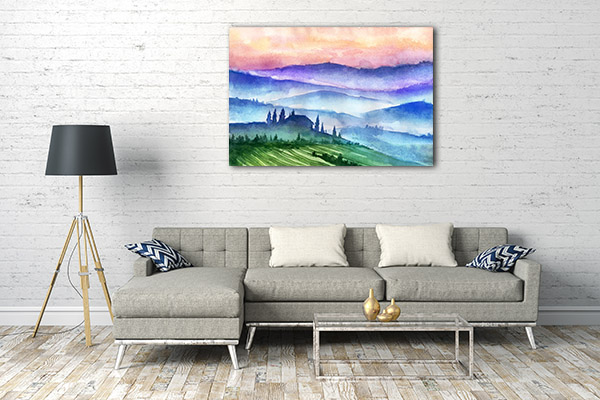Italy Mountains Wall Art