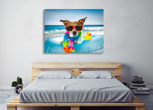 Jack Russel Dog Canvas Prints