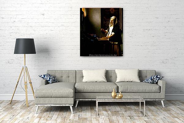 Jan Vermeer Oil Paintings on Canvas
