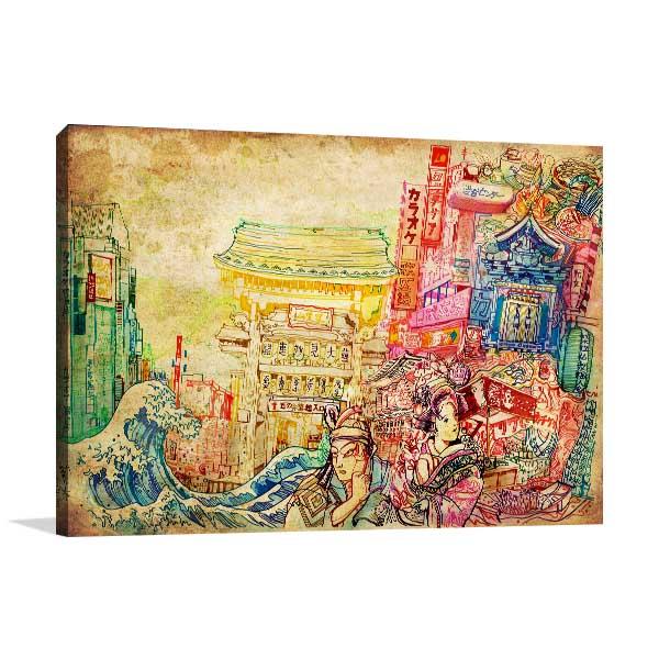 Japan Culture Wall Art