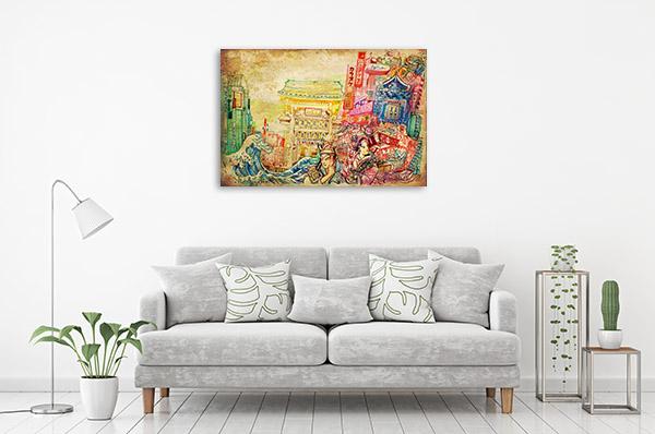 Japan Culture Canvas Prints