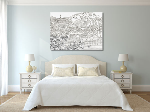 Japan Landscape Canvas Art Prints