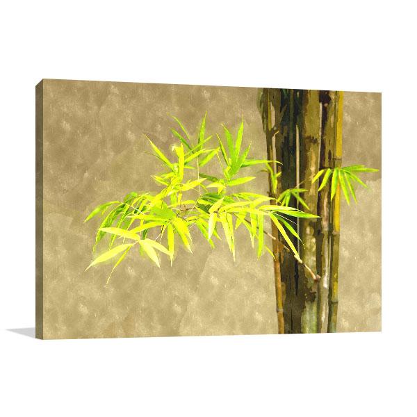 Japanese Bamboo Leaves Art Prints