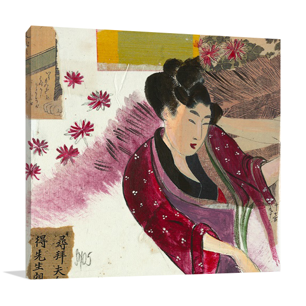 Japanese Kimono Wall Print