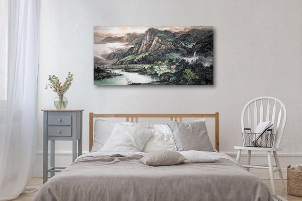 Japanese Landscape Canvas Prints
