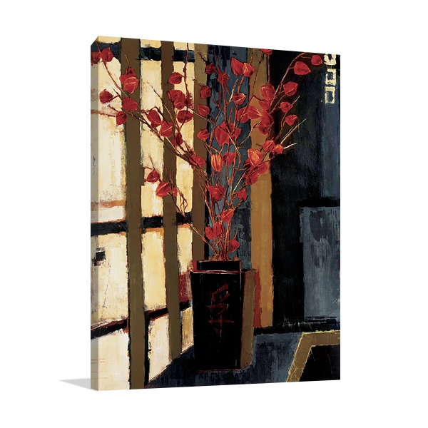 Japanese Lanterns Wall Print