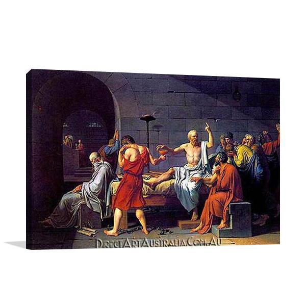Jaques Louis David Canvas Paintings